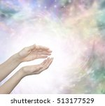 faith healing with blissful... | Shutterstock . vector #513177529
