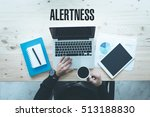 Small photo of COMMUNICATION WORKING TECHNOLOGY BUSINESS AND ALERTNESS CONCEPT