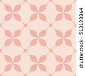 feminine pattern  | Shutterstock .eps vector #513193864