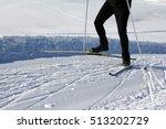 go cross country skiing in...   Shutterstock . vector #513202729