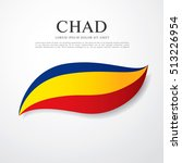 flag of chad | Shutterstock .eps vector #513226954