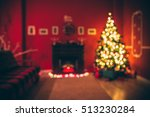 Defocused Background Christmas...