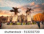 panoramic view of lima main... | Shutterstock . vector #513232720