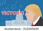 november 8  2016  vector... | Shutterstock .eps vector #513245650