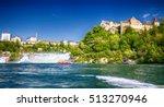 View To Rhine Falls  Rheinfall...