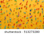 new year decoration party...   Shutterstock . vector #513273280