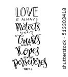 Love. It Always Protect  Alway...