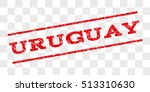 uruguay watermark stamp. text... | Shutterstock .eps vector #513310630