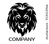 lion head logo | Shutterstock .eps vector #513313966