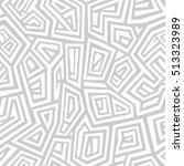 vector seamless pattern. modern ... | Shutterstock .eps vector #513323989