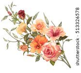 illustration of beautiful... | Shutterstock . vector #513326578