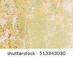 aged street wall background ... | Shutterstock . vector #513343030