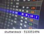 stock market chart stock market ... | Shutterstock . vector #513351496