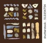 rush grungy vector abstract... | Shutterstock .eps vector #513354754