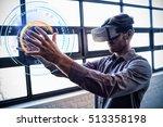 digitally generated image of...   Shutterstock . vector #513358198