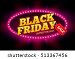 black friday sale frame design... | Shutterstock .eps vector #513367456