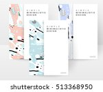 annual report brochure template ... | Shutterstock .eps vector #513368950