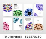 annual report brochure template ... | Shutterstock .eps vector #513370150