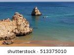 dona ana beach  praia dona ana  ... | Shutterstock . vector #513375010