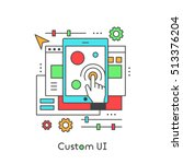 ui ux custom design developing...