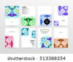 annual report brochure template ... | Shutterstock .eps vector #513388354