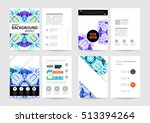 annual report brochure template ... | Shutterstock .eps vector #513394264