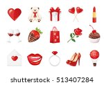Valentine's Day Icons  Teddy...