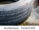 old used tires | Shutterstock . vector #513421330