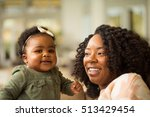 mother and baby. happy family.... | Shutterstock . vector #513429454