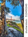 Golden Gate Bridge Seen Throug...