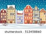 Christmas Town Illustration....