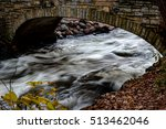 bridge over river by minnehaha... | Shutterstock . vector #513462046