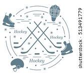 vector illustration of various... | Shutterstock .eps vector #513491779