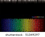 brightly coloured abstract...   Shutterstock .eps vector #51349297