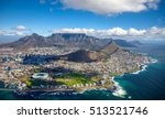 Aerial photo of cape town south ...