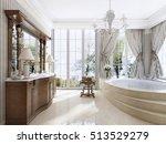 luxury neoclassical furniture... | Shutterstock . vector #513529279