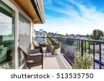 apartment house exterior in... | Shutterstock . vector #513535750