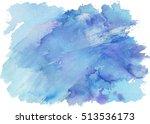 Watercolor Splash Texture. Hand ...