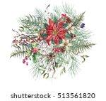 Christmas Vintage Floral...