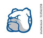 bulldog head mascot   Shutterstock .eps vector #513562258