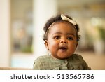 happy baby | Shutterstock . vector #513565786