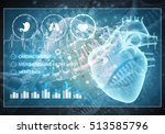media medicine background image ... | Shutterstock . vector #513585796
