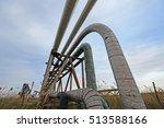 oil pipeline  | Shutterstock . vector #513588166