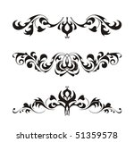 abstract design elements | Shutterstock .eps vector #51359578