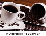 Love for Coffee - stock photo