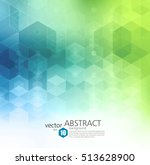 vector abstract geometric... | Shutterstock .eps vector #513628900