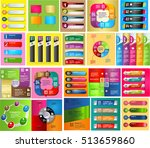 colorful modern text box... | Shutterstock .eps vector #513659860