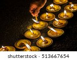 Candle Light . Candle Flame At...