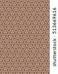 japanese traditional pattern  ... | Shutterstock .eps vector #513669616