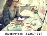 shopping commercial online... | Shutterstock . vector #513674914